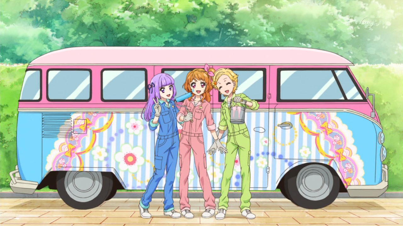 Apparently their Starlight wardrobes also include color matching work clothes
